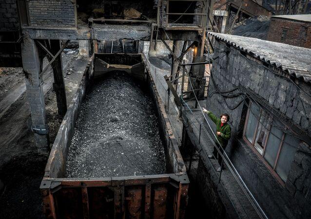 Důl v Doněcku