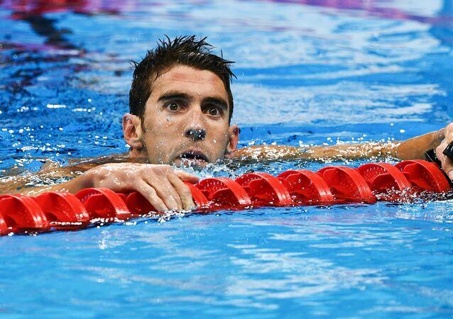 Americký plavec Michael Phelps