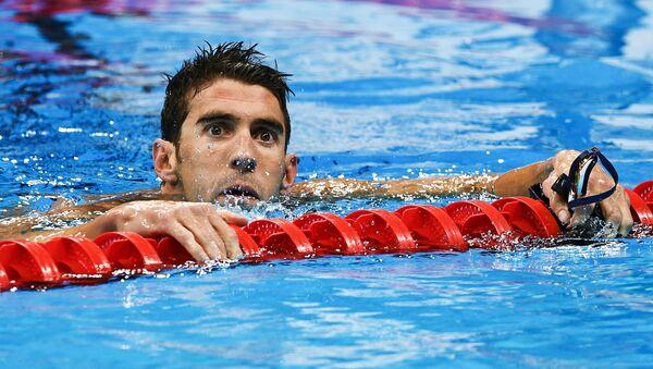 Americký plavec Michael Phelps - Sputnik Česká republika