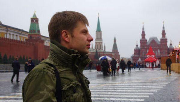 Ukrajinský poslanec Alexij Hončarenko v Moskvě - Sputnik Česká republika