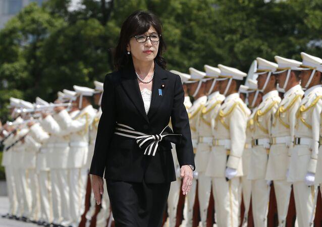 Ministryně obrany Japonska Tomomi Inada