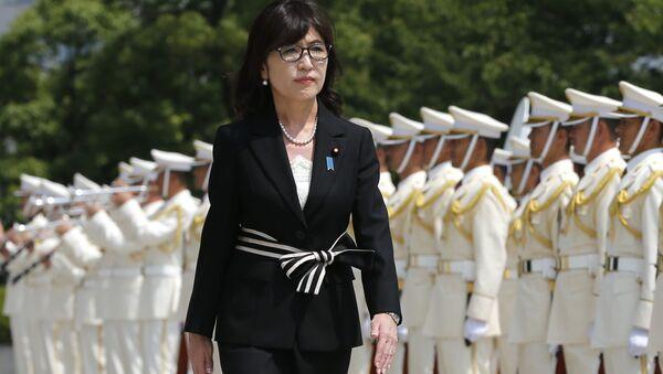 Ministryně obrany Japonska Tomomi Inada - Sputnik Česká republika