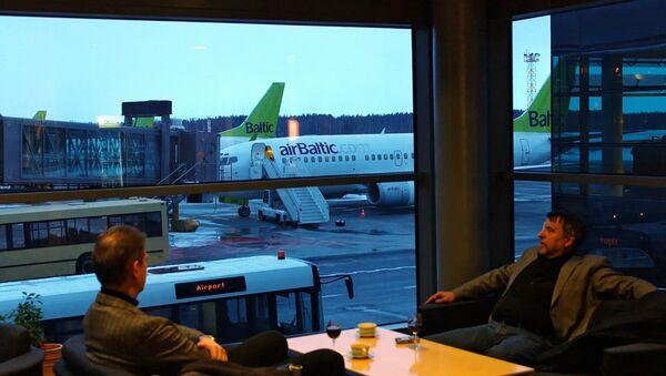 Letiště v Rize - Sputnik Česká republika