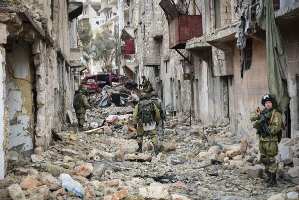 Život ruských vojáků v Sýrii - Sputnik Česká republika