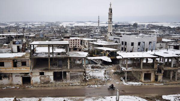 Homs. Ilustrační foto - Sputnik Česká republika