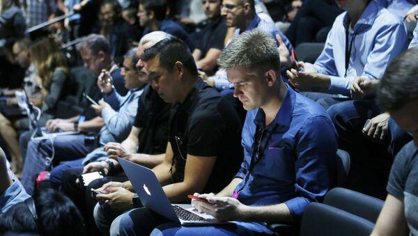 Novináři v USA - Sputnik Česká republika
