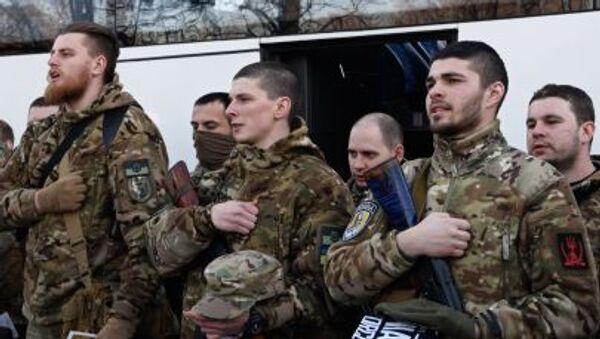 Ukrajinské zvláštní jednotky - Sputnik Česká republika