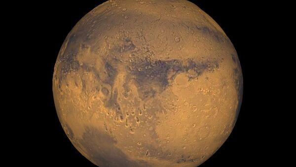 Severní pól Marsu obsahuje překvapivě obrovské množství vody - Sputnik Česká republika