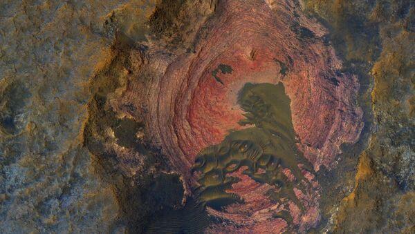 Snímek povrchu Marsu - Sputnik Česká republika