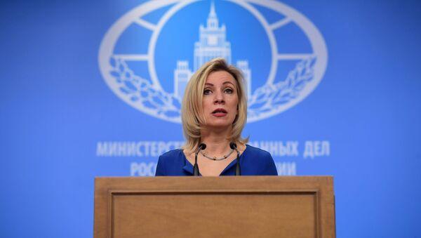 Oficiální představitelka MZV Ruska Maria Zacharovová - Sputnik Česká republika