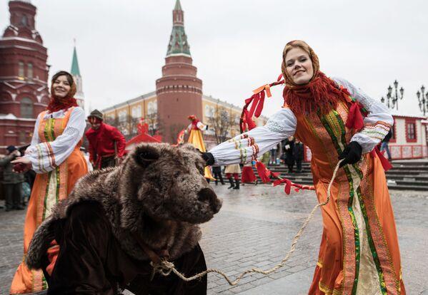 Zahájení festivalu Moskevský masopust - Sputnik Česká republika