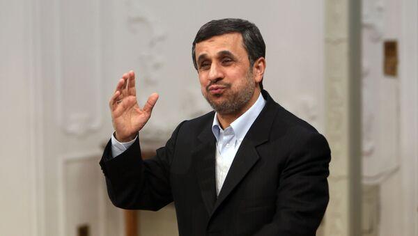Bývalý íránský prezident Mahmúd Ahmadínežád - Sputnik Česká republika