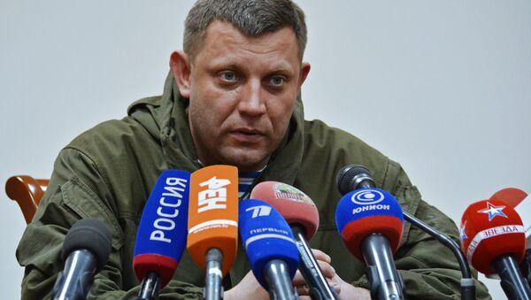 Alexandr Zacharčenko - Sputnik Česká republika