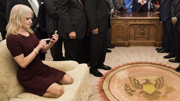 Poradkyně prezidenta USA Kellyanne Conwayová - Sputnik Česká republika