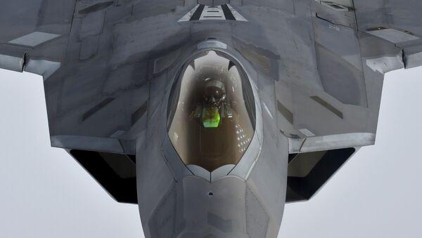 Americká stíhačka F-22 Raptor - Sputnik Česká republika