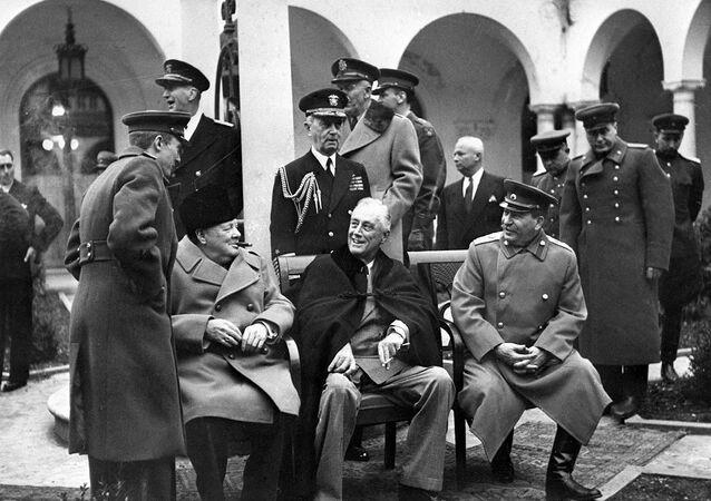 Jaltská konference z roku 1945
