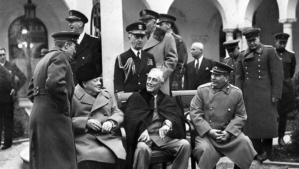 Jaltská konference z roku 1945 - Sputnik Česká republika