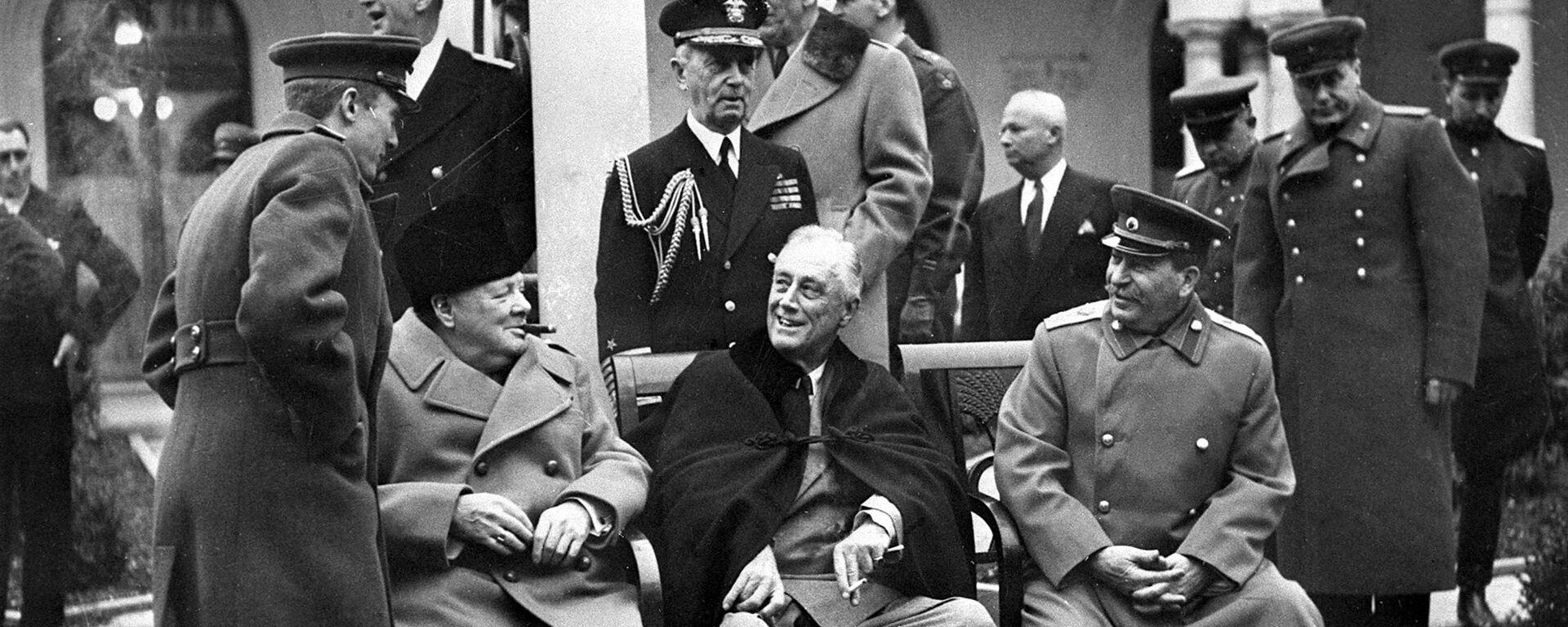 Jaltská konference r. 1945 - Sputnik Česká republika, 1920, 26.05.2021