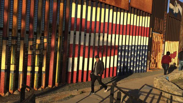 Hranice USA a Mexika - Sputnik Česká republika