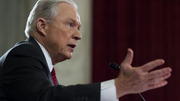 Generální prokurátor USA Jeff Sessions - Sputnik Česká republika