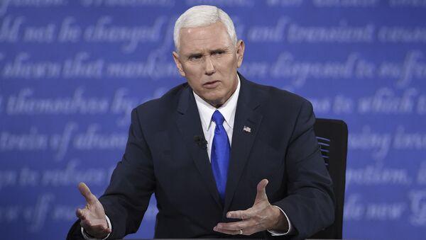 Viceprezident USA Michael Pence - Sputnik Česká republika
