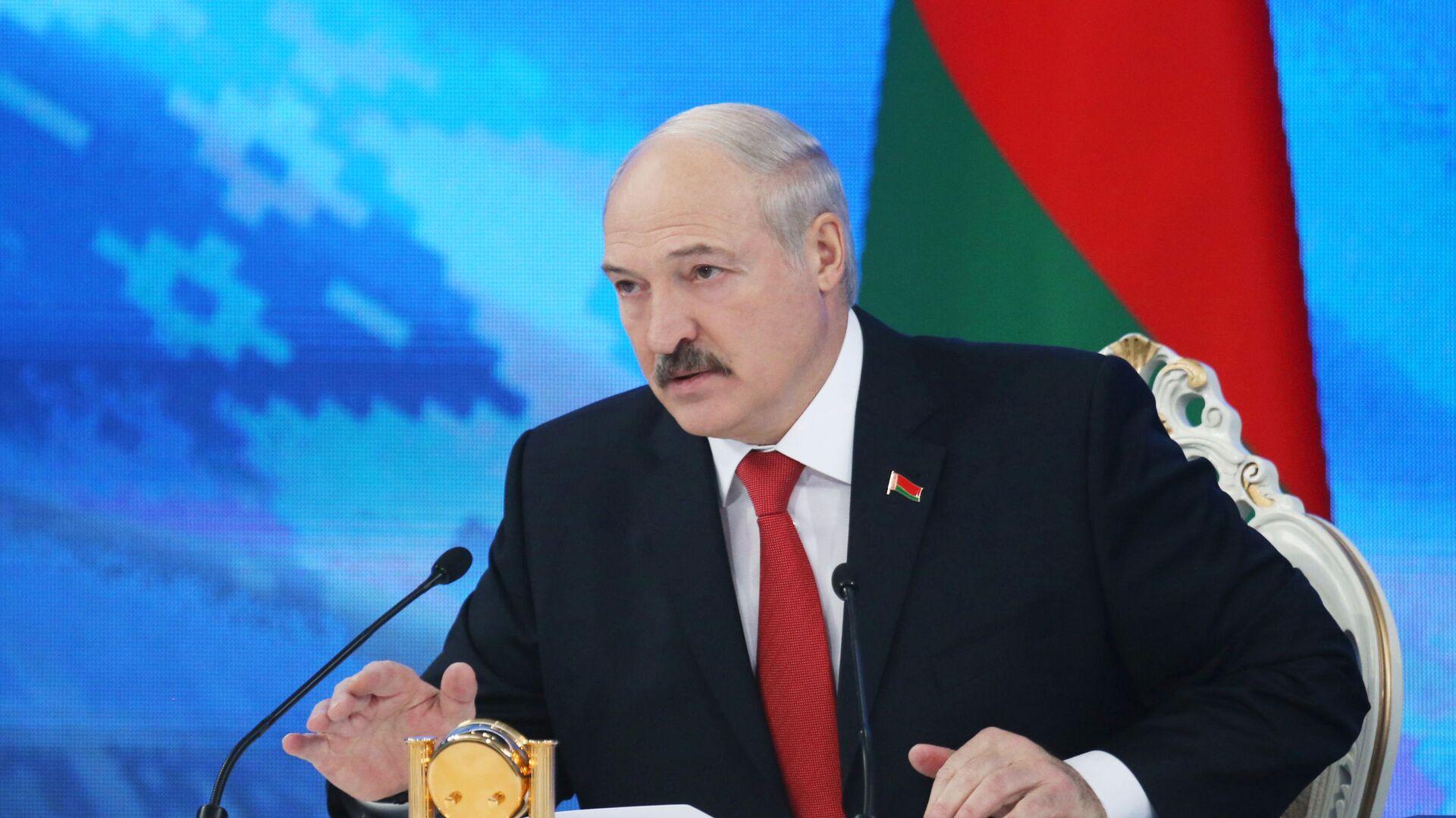Běloruský prezident Alexandr Lukašenko - Sputnik Česká republika, 1920, 23.04.2021
