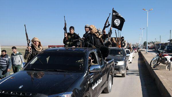 Členové teroristické organizace Islámský stát - Sputnik Česká republika