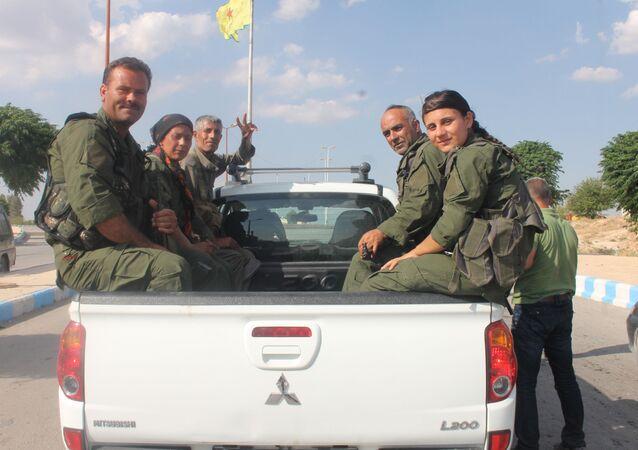 Oddíly Demokratických sil Sýrie