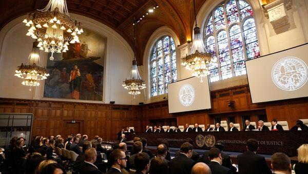 Mezinárodní soud OSN zahájil jednání v rámci žaloby Ukrajiny na Rusko - Sputnik Česká republika