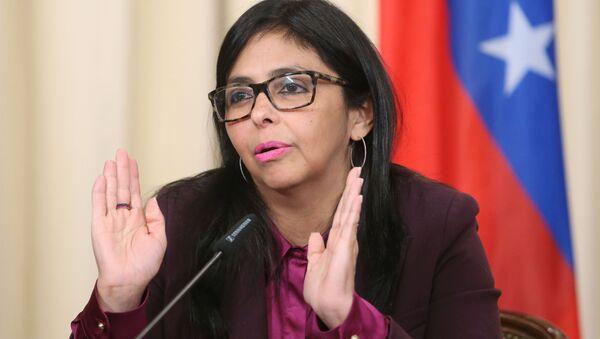 Ministryně zahraničí Venezuely Delcy Rodriguezová - Sputnik Česká republika