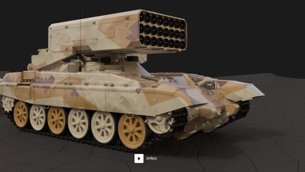 Těžký plamenometný systém TOS-1A - Sputnik Česká republika