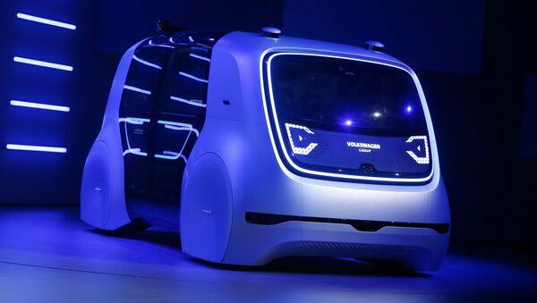 Bezpilotní elektromobil Volkswagen - Sputnik Česká republika