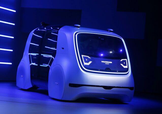 Elektromobil Volkswagen Sedric concept. Ilustrační foto