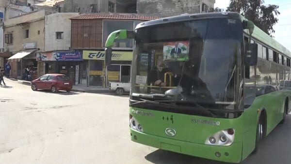 V Aleppu spustili městské autobusy - Sputnik Česká republika