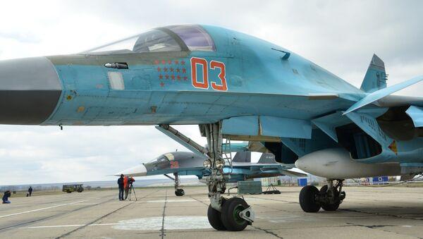 Letadlo Su-34 - Sputnik Česká republika