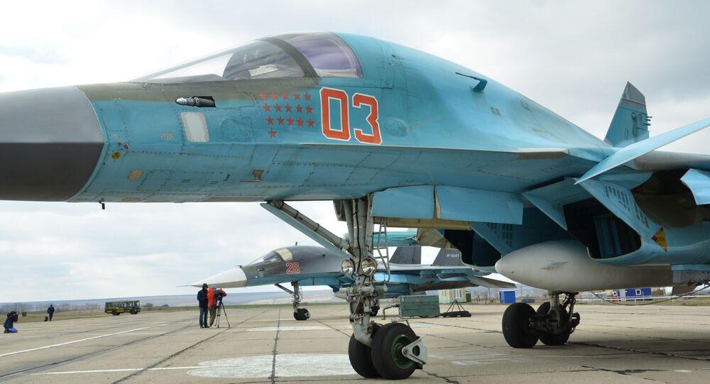 Letadlo Su-34