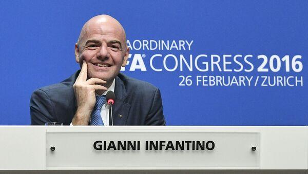 Prezident FIFA Gianni Infantino - Sputnik Česká republika