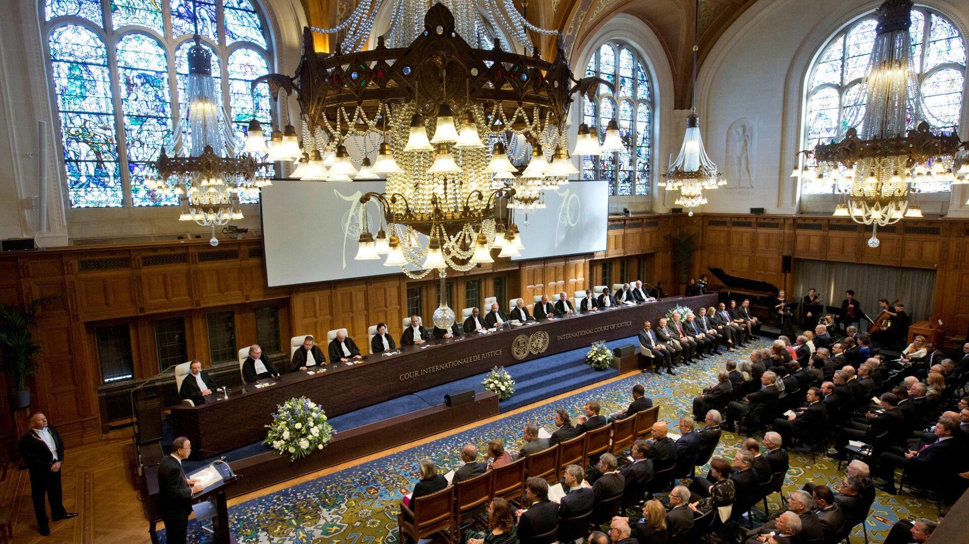 Mezinárodní soud v Haagu - Sputnik Česká republika, 1920, 01.08.2021