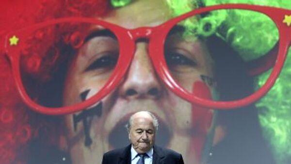 17 let v čele FIFA - Blatter rezignuje - Sputnik Česká republika