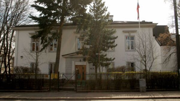 Ruské velvyslanectví v Oslu - Sputnik Česká republika