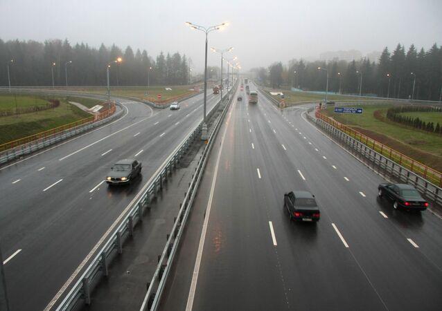 Úsek dálnice M-3 Ukrajina