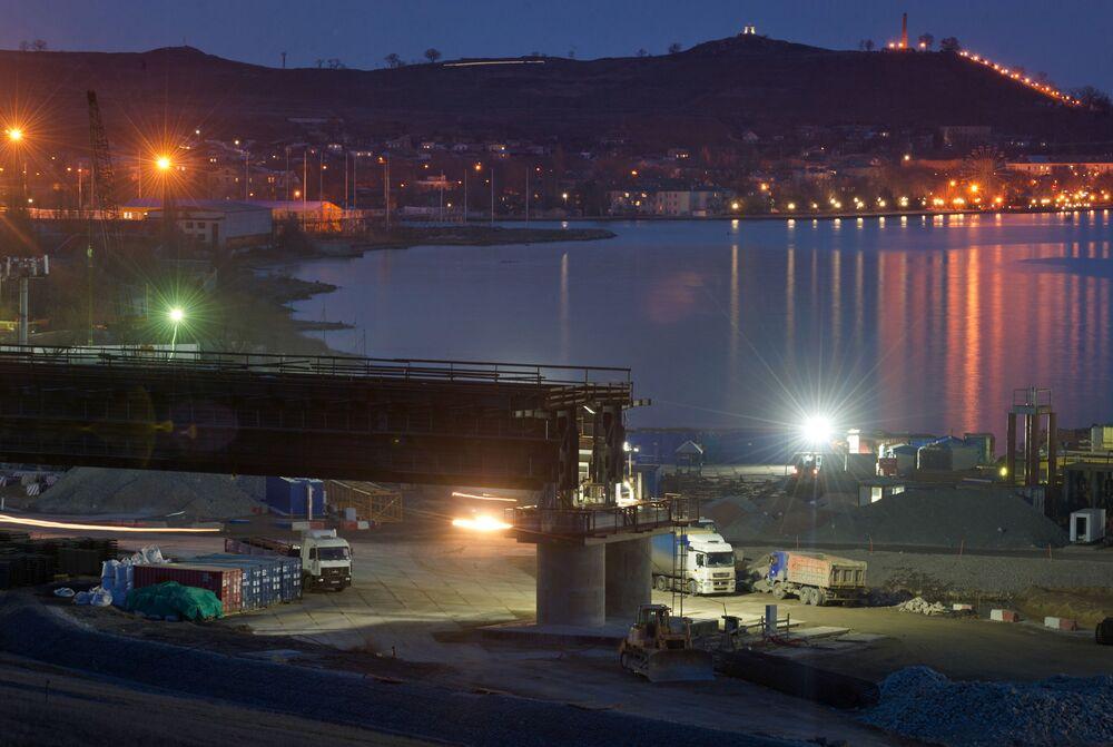 Stavba století: most přes Kerčský průliv
