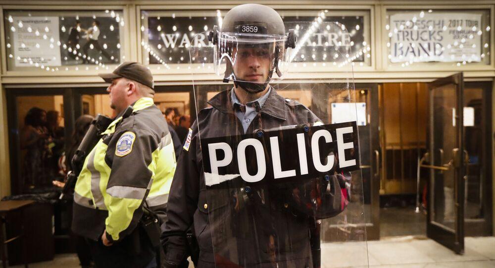 Americká policie. Illustrační foto