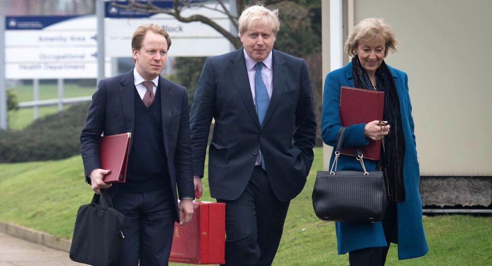 Ben Gummer, Boris Johnson a Andrea Leadsomová