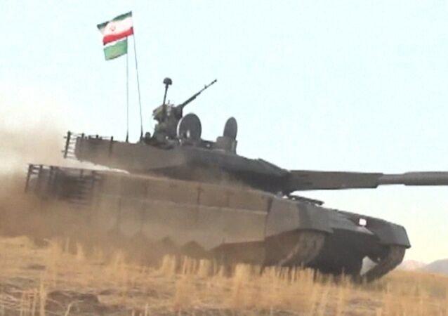 Íránský tank