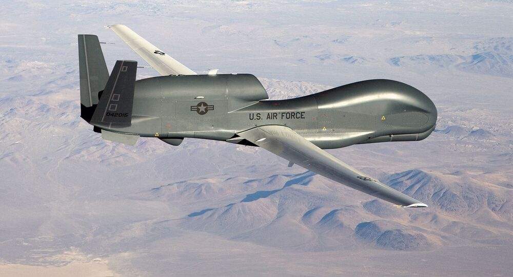 Americký dron RQ-4 Global Hawk