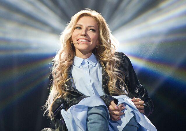 Ruská účastnice Eurovize 2017 Julie Samojlovová