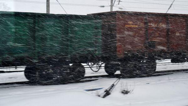 Nákladní vlak - Sputnik Česká republika