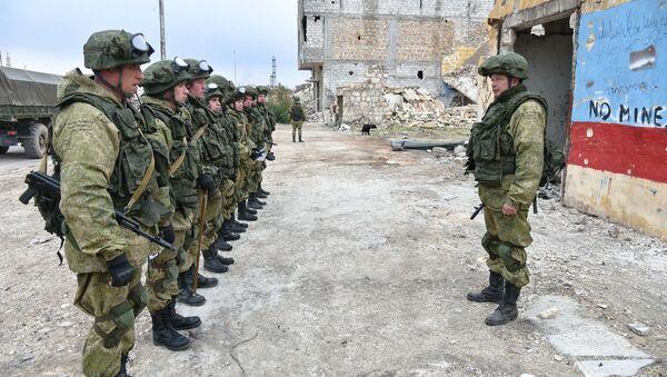 jednotka Mezinárodního protiminového centra Ozbrojených sil Ruska - Sputnik Česká republika