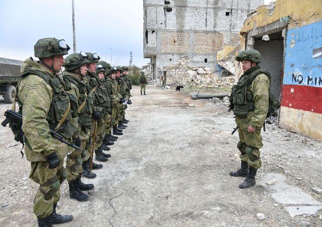 jednotka Mezinárodního protiminového centra Ozbrojených sil Ruska